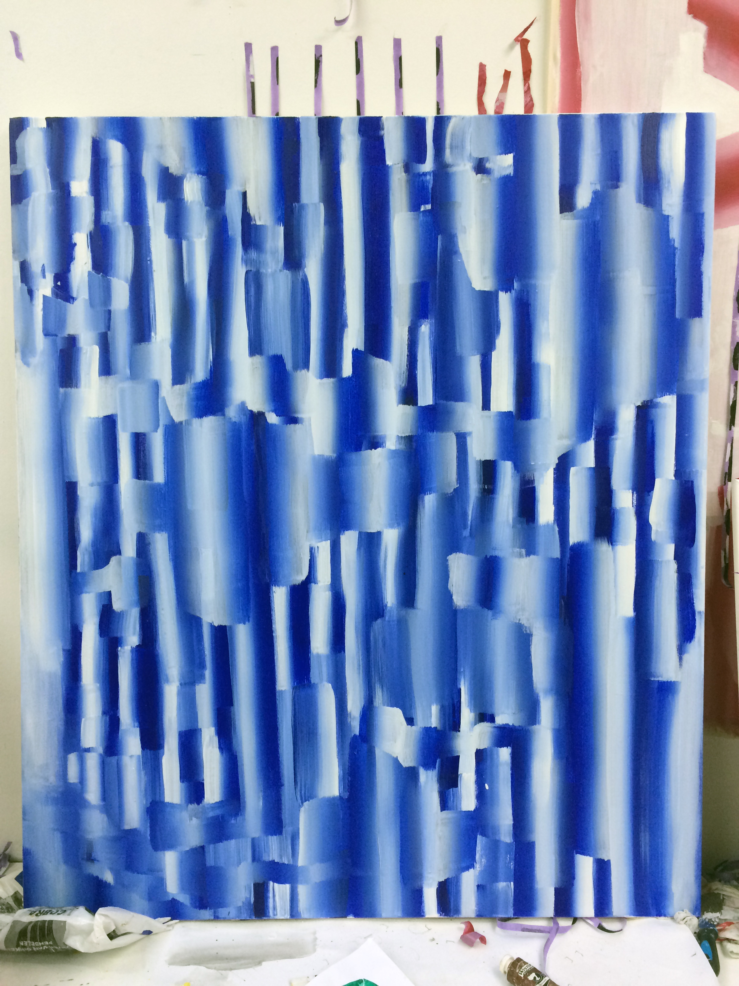 untitled, oil on canvas, 140x120cms, 2018